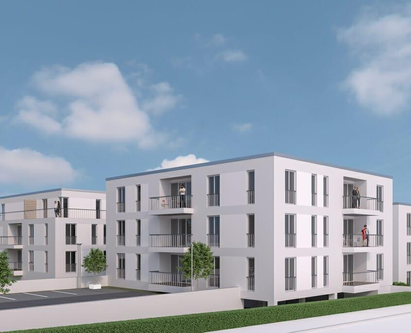 Eigentumswohnungen in Fulda - Haimbach Gärten